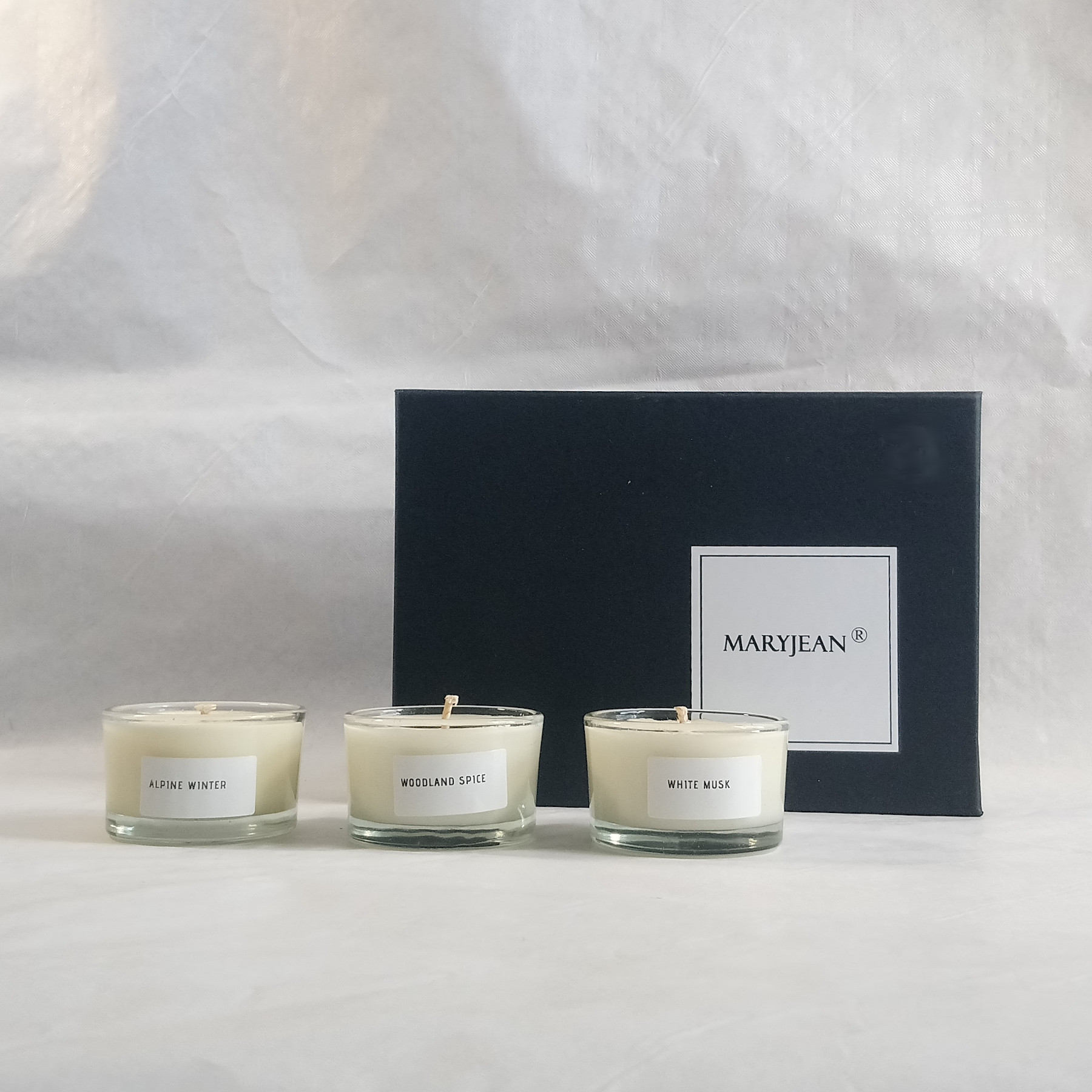 6 Piece Soy Wax Tea Light Candle Gift Box