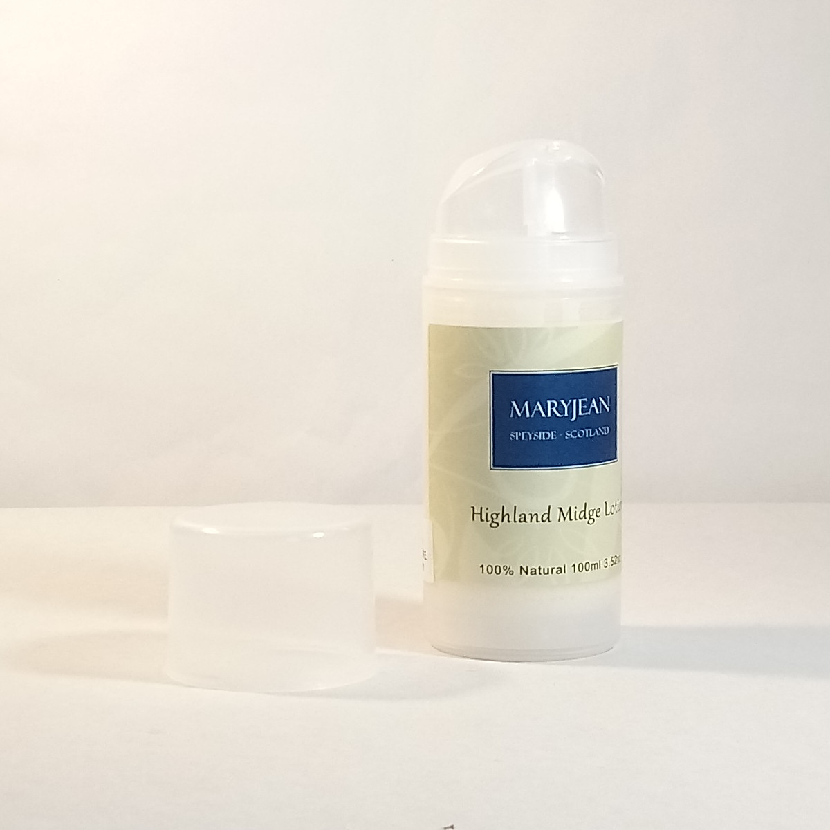Highland Midge Holiday Travel Insect Repellent Lotion With Jojoba