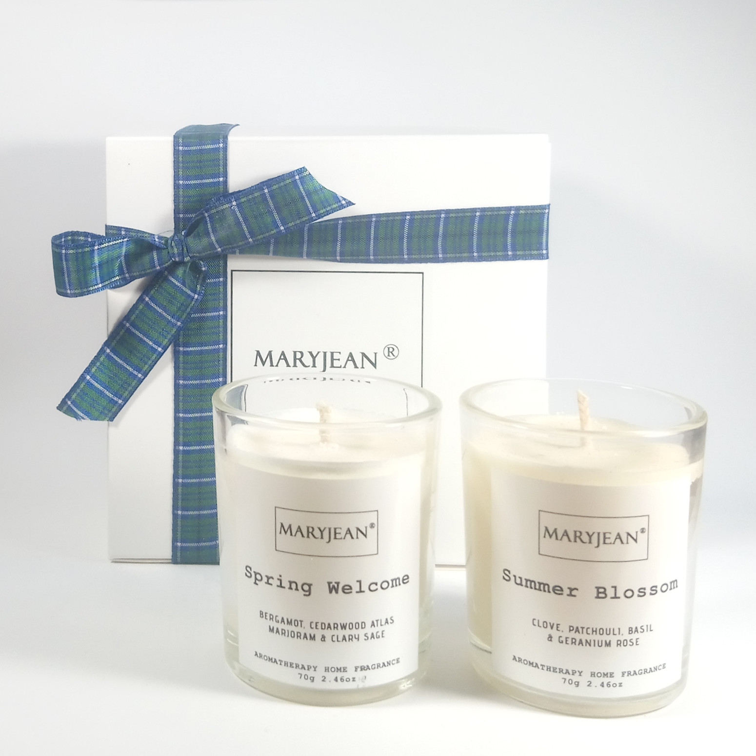 Natural Home Season S Spring And Summer Fragrance Hand Poured Luxury Candle Gift Set