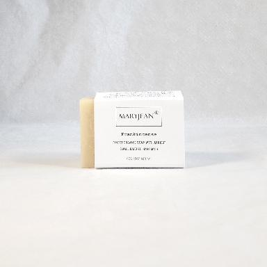Travel Size Organic Scottish Frankincense Soap Handmade With Apricot