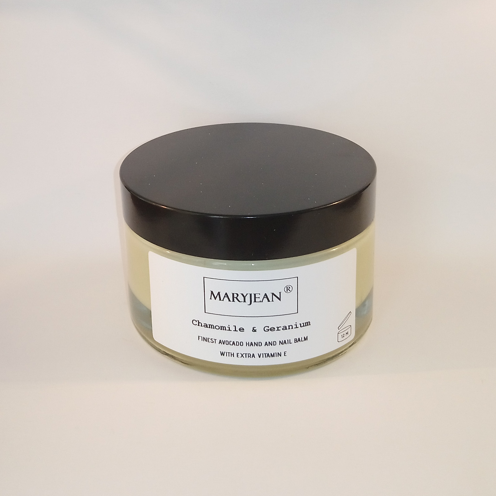 Avocado Hand and Nail Chamomile Geranium Balm with extra Vitamin E