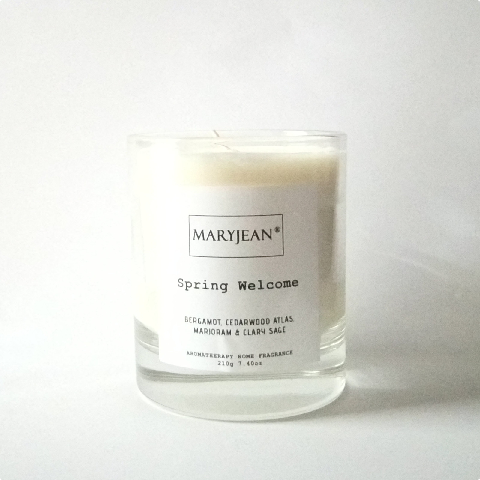 Spring Home Seasons Fragrance hand poured large Luxury Soy candle