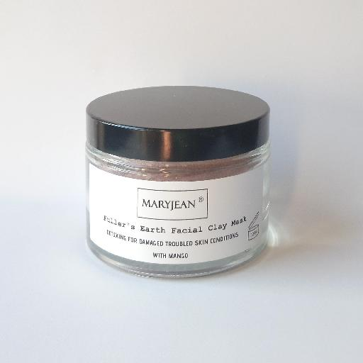 Detox and improve your skins health after regular use clears up troubled and problematic skin conditions for clearer complexion Detoxing Fullers Earth Clay Facial Mask For Damaged Troubled Skin Conditions With Mango 34634593193057004032073402357343