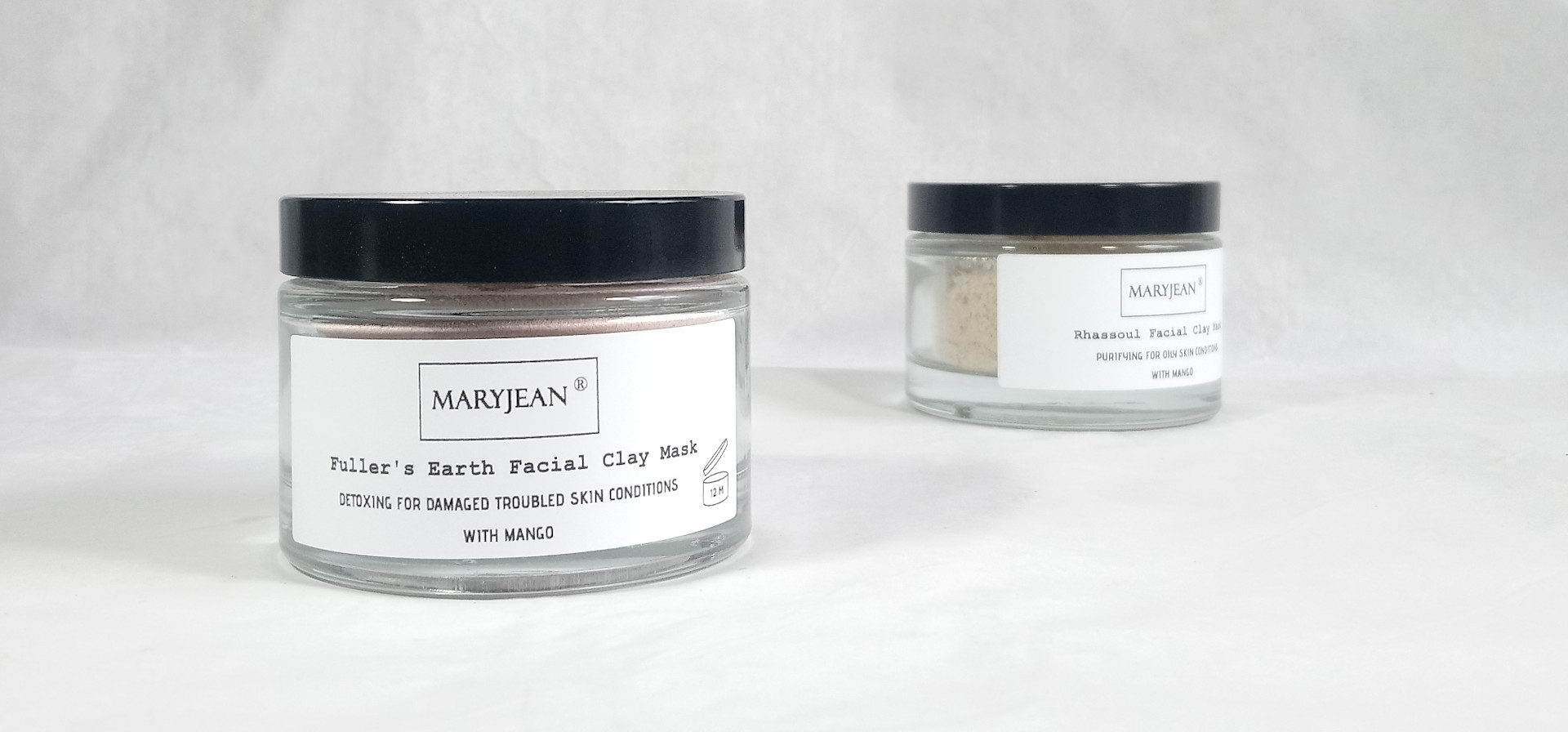 Detoxing Fullers Earth Clay Facial Mask For Damaged Troubled Skin Conditions With Mango en_GB