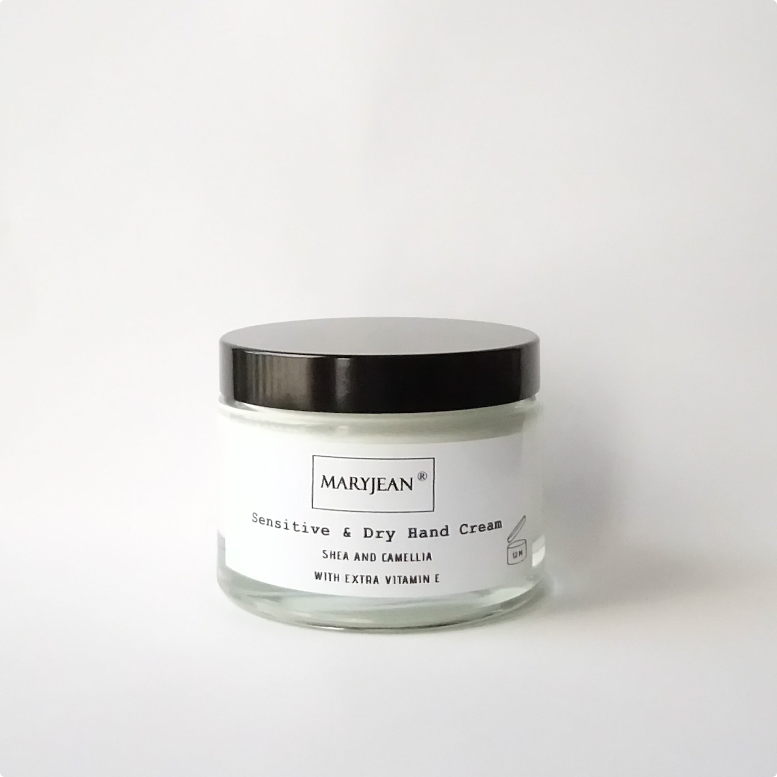 Hand and Body Moisturising cream for Sensitive Dry skin with Camellia