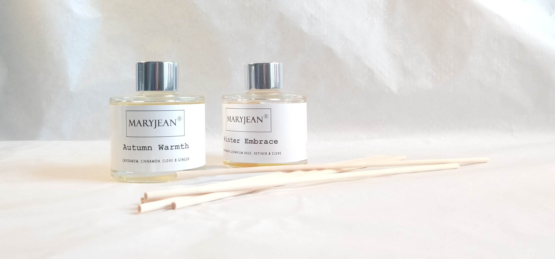 Natural Home Season's Autumn And Winter Fragrance Handmade Luxury Reed Diffusers Twin 2 Pack en_GB