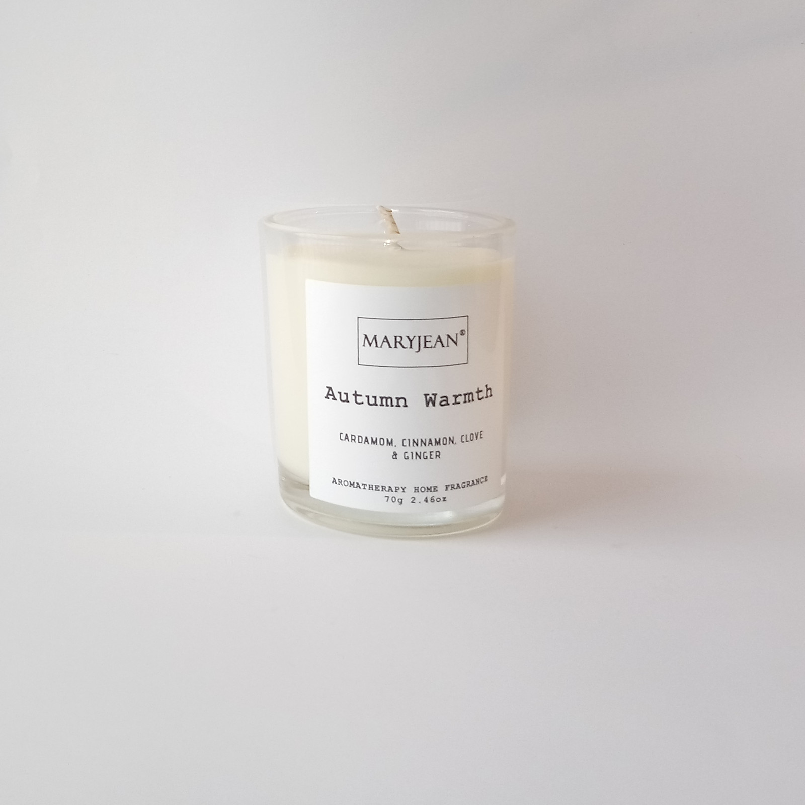Natural Home Season's Autumn Fragrance Hand Poured Small Luxury Soy Candle Tree's lose their leaves their time to hibernate for a coming winter as we celebrate Halloween and a country harvest with this natural candle