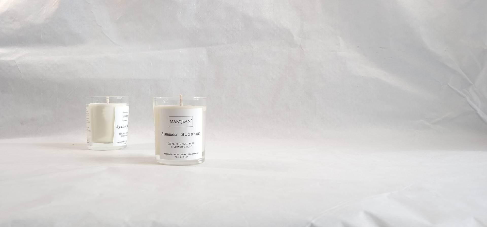 Natural Home Season's Spring And Summer Fragrance Hand Poured Luxury Candle Gift Set en_GB
