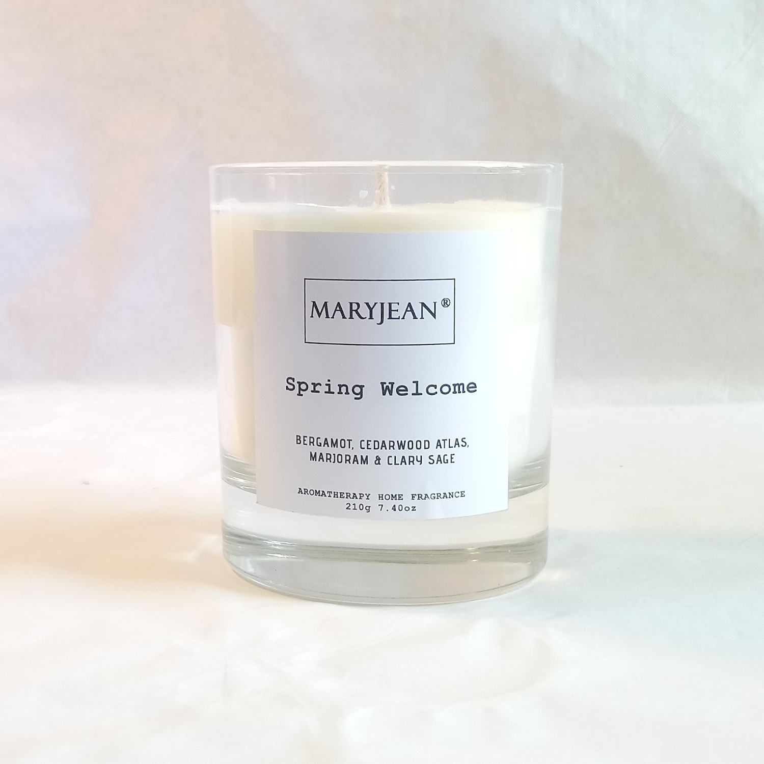 Natural Home Season's Spring Fragrance Hand Poured Large Luxury Soy candle