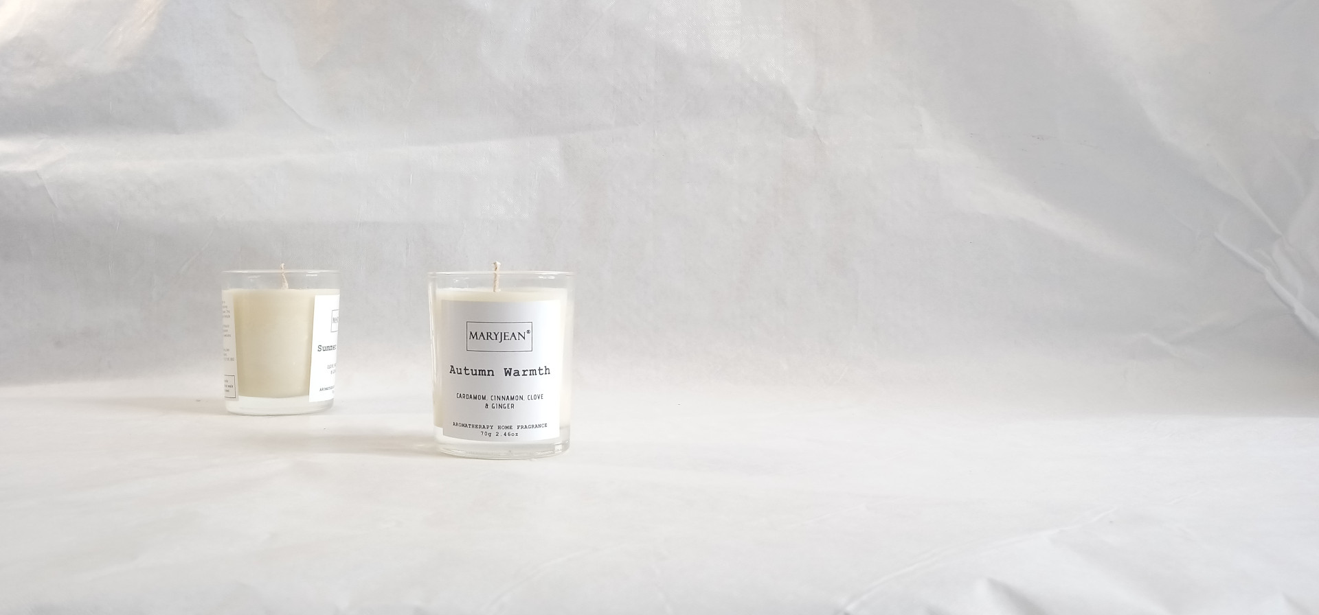Natural Home Season's Summer And Autumn Fragrance Hand Poured Luxury Candle Gift Set en_GB