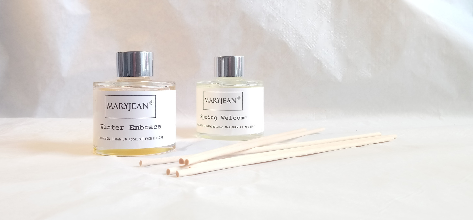 Natural Home Season's Winter And Spring Fragrance Handmade Luxury Reed Diffusers Twin 2 Pack en_GB