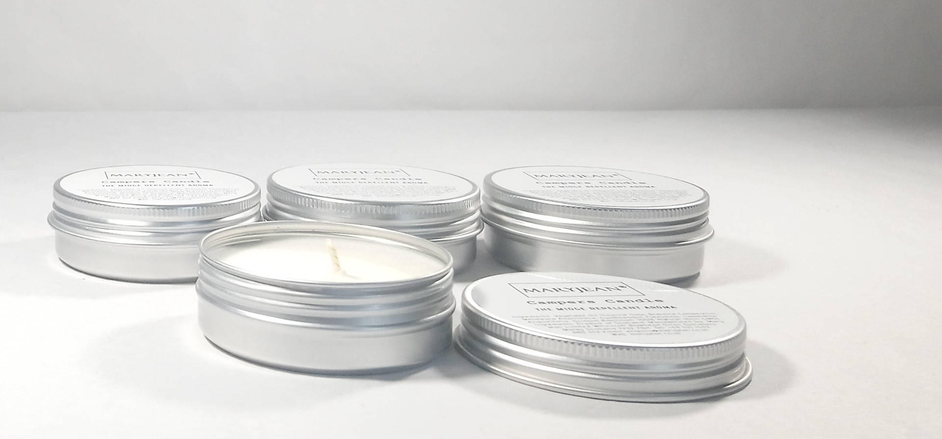 Natural Weekend Camping Travel Insect Repellent Candle With Lemongrass Bumper 4 Pack Bundle en_GB
