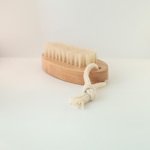 Strong sturdy wooden nail brush with short and long bristles natural materials for best effective personal hygiene Natural Wood Double Sided Hand And Nail Scrubbing Brush 43543485768103898018113627742102