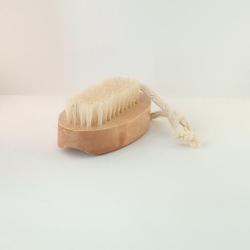 Strong sturdy wooden nail brush with short and long bristles natural materials for best effective personal hygiene Natural Wood Double Sided Hand And Nail Scrubbing Brush 67261937075048552785912453131874