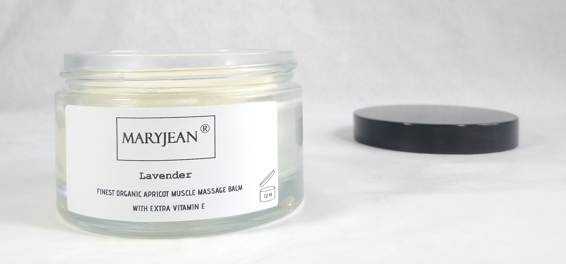 Organic Apricot Muscle Massage Lavender Balm With Extra Vitamin E en_GB