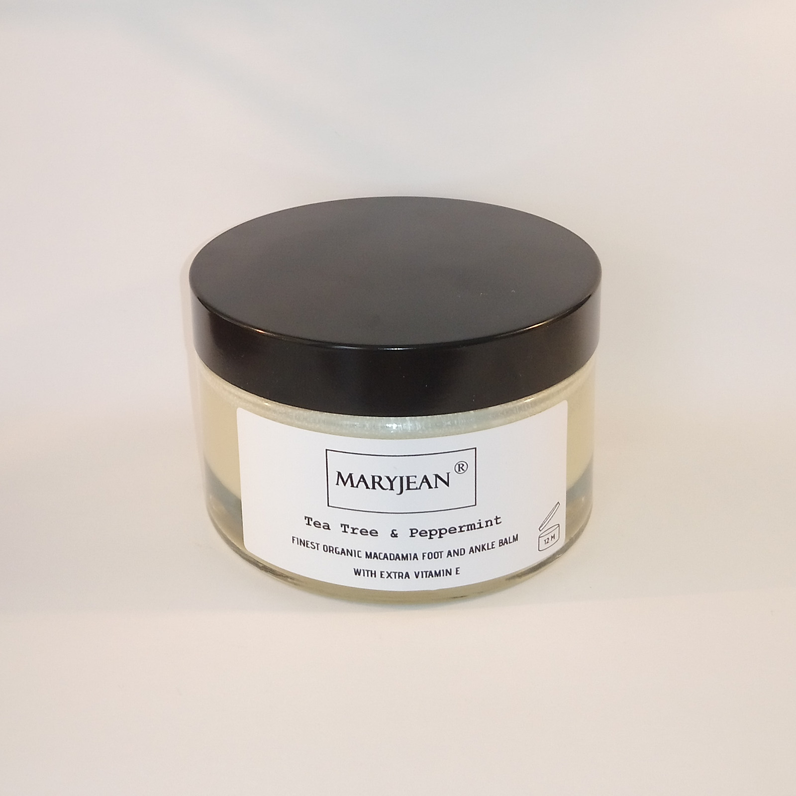A rich balm for cooling and calming tired sore feet ankles and heels use sparingly as intense moisturisation Organic Macadamia Foot And Ankle Tea Tree Peppermint Balm With Extra Vitamin E