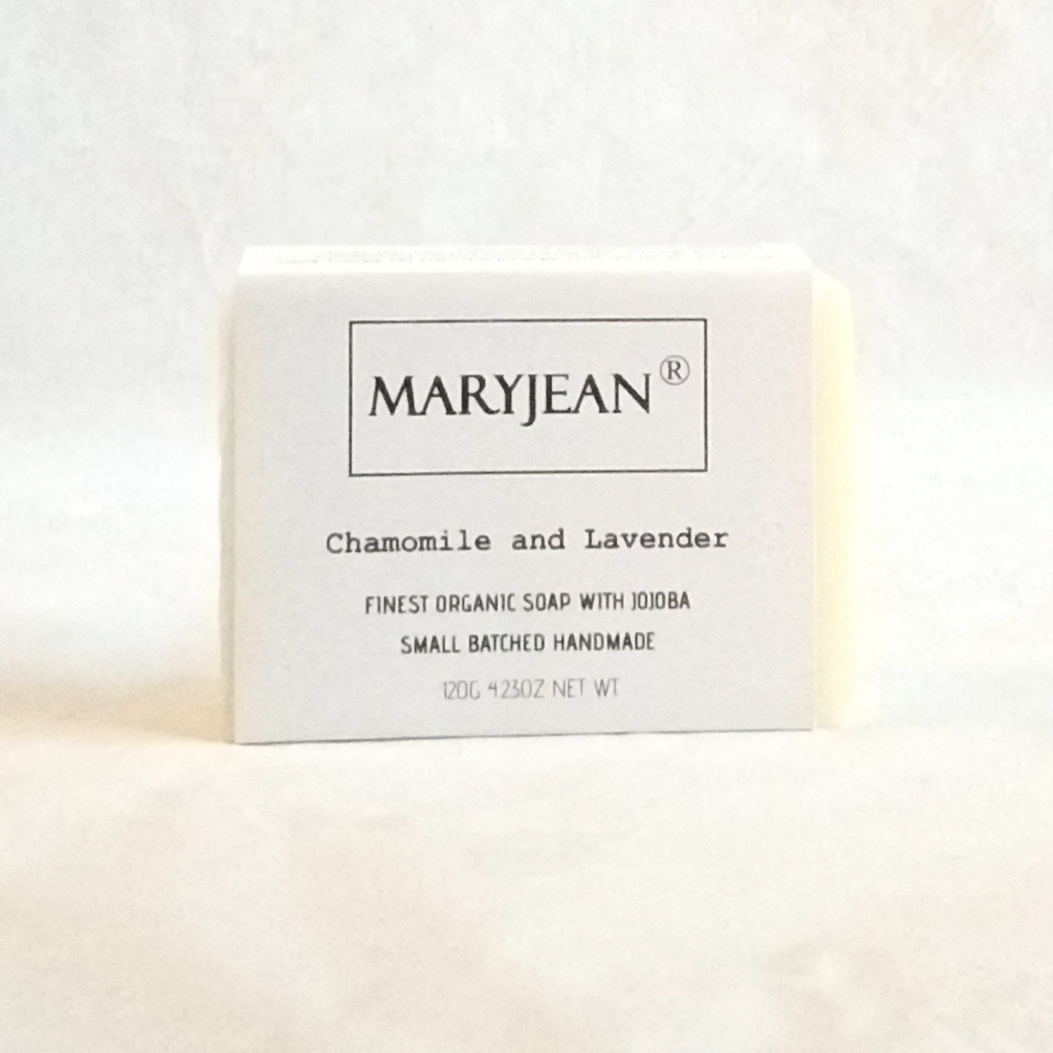 Organic Scottish Chamomile Lavender Facial Cleansing Soap Handmade With Jojoba An excellent choice for treating sun burnt skin this summer this bar of soap is sensitive enough for every day use with Jojoba for healthier skin