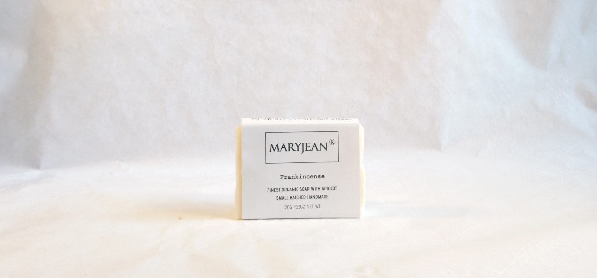 Organic Scottish Frankincense Soap Handmade With Apricot en_GB