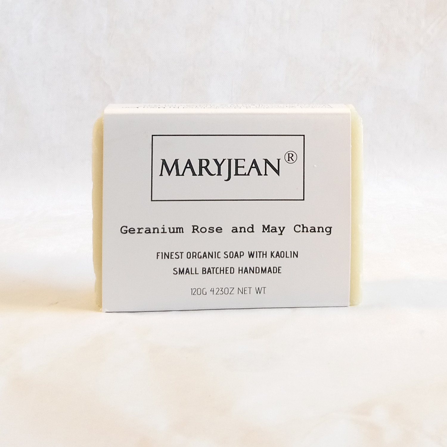 Organic Scottish Geranium May Chang Gentlemen's Shaving Soap Handmade With Kaolin Enhance your skin health with this wet shaving natural shaving soap bar for sensitive and all skin types with moisturising aromatherapy Olive oil and Kaolin clay