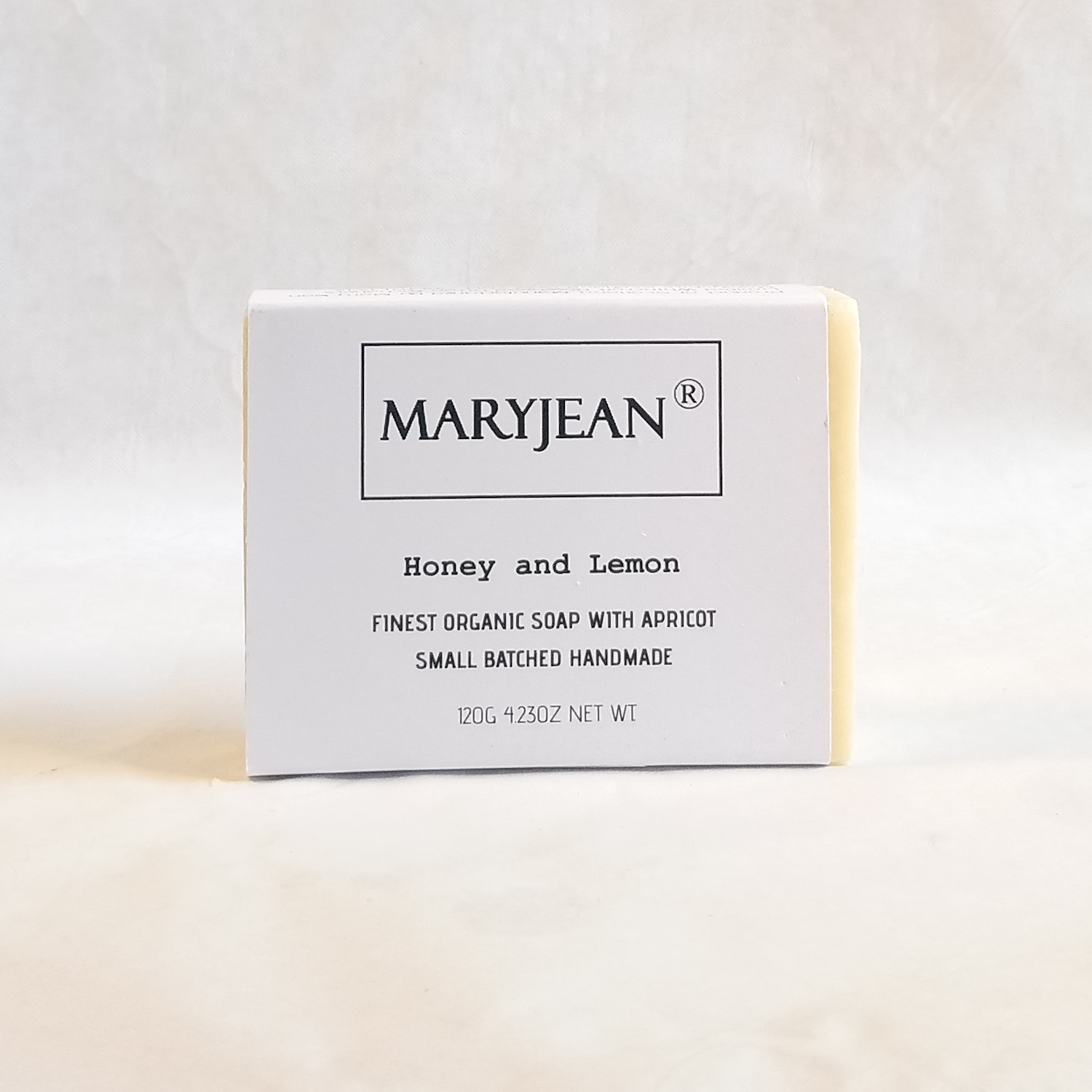 A quality zesty Lemon bar of soap with Honey and Apricot for dry mature skin types moisturised with Cocoa seed butter resulting in maximum hydration all day protection Organic Scottish Honey Lemon Soap Handmade With Apricot