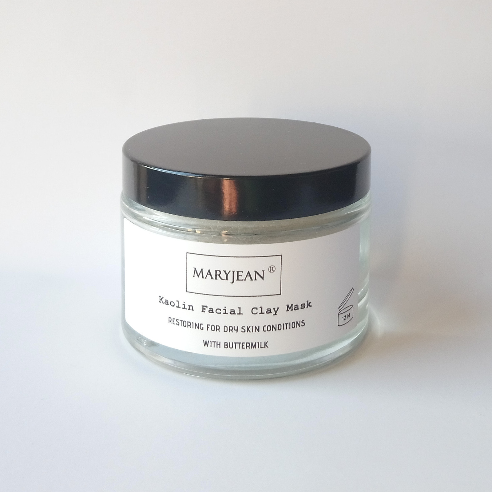 Restoring Kaolin Clay Facial Mask for Dry Skin Conditions with Buttermilk A mild mask for treating dry irritable and sensitive skin and scalp improves moisture beneficial for sun damaged skin
