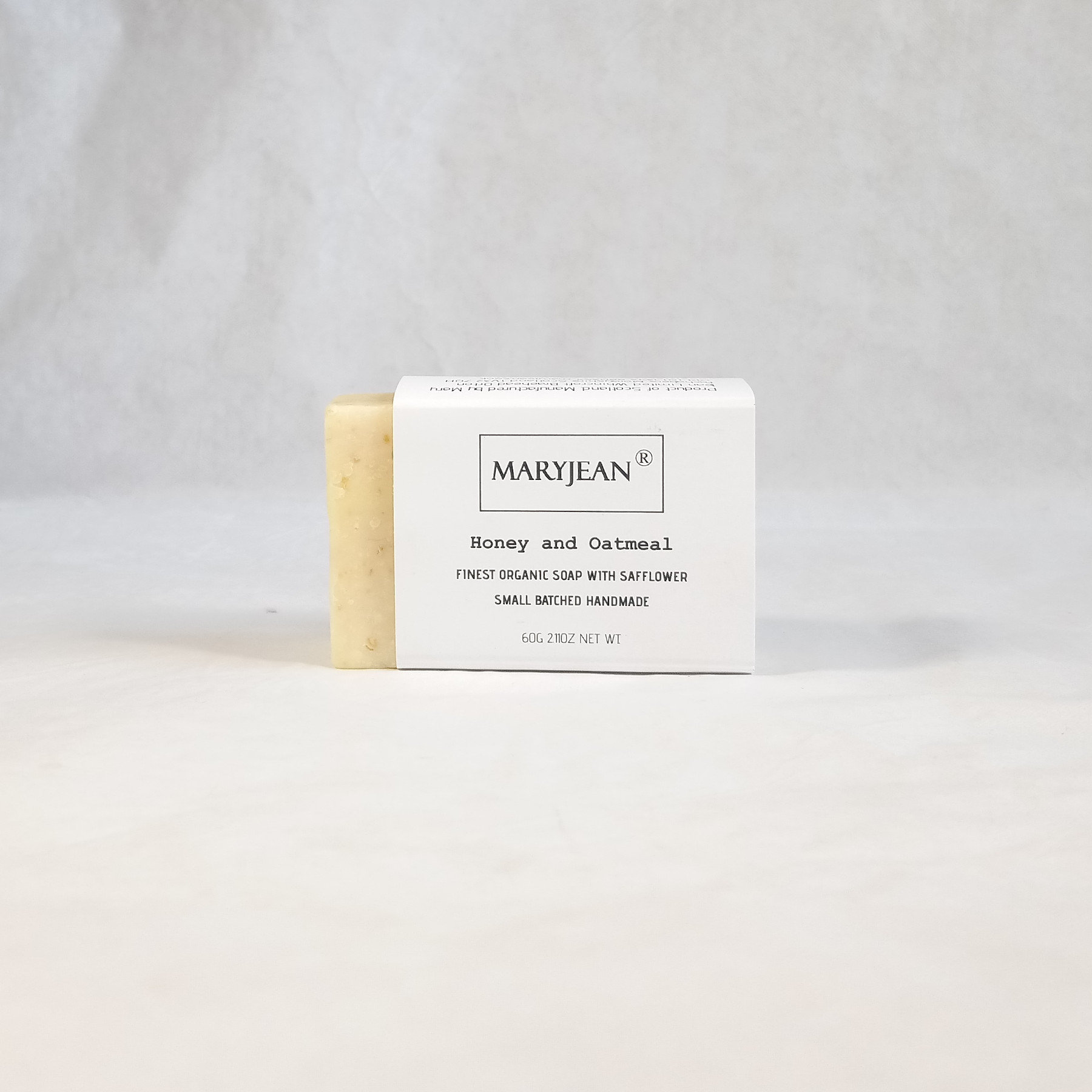 Travel size Organic Scottish Exfoliating Oatmeal Body Scrub Soap Handmade with Honey Oatmeal soap exfoliates and moisturises dry skin resulting in renewed polished skin the best choice for Eczema and Psoriasis