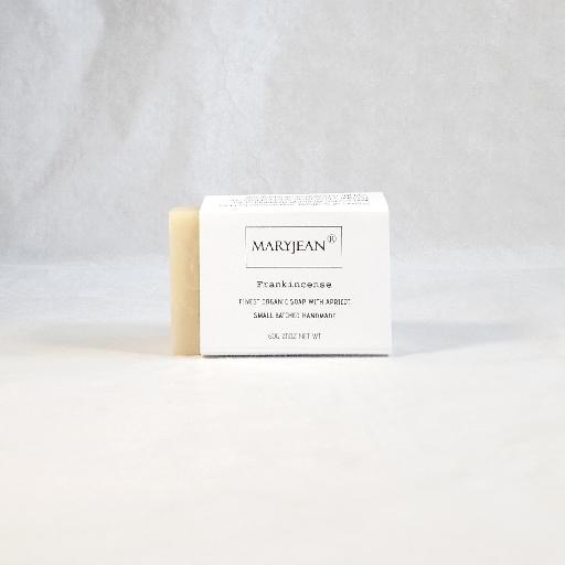Best skin care soap bar for sun and environment damaged dry skin conditions use daily for best results Travel Size Organic Scottish Frankincense Soap Handmade With Apricot 22819856490921552890471859886885
