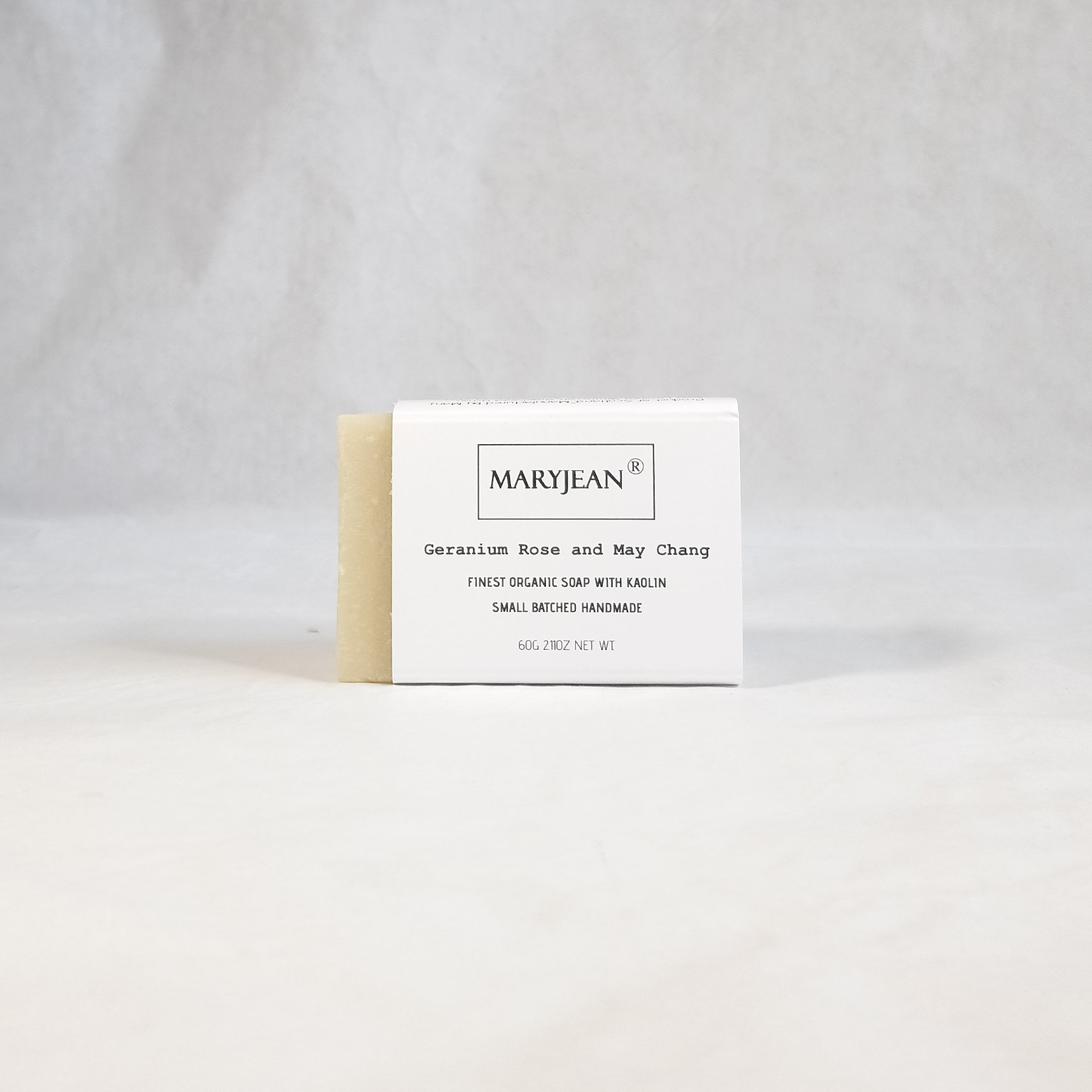 Travel size Organic Scottish Geranium May Chang Gentlemen's Shaving Soap Handmade with Kaolin Enhance your skin health with this wet shaving Scottish natural shaving soap bar for sensitive and all skin types with moisturising aromatherapy Olive oil and Kaolin clay