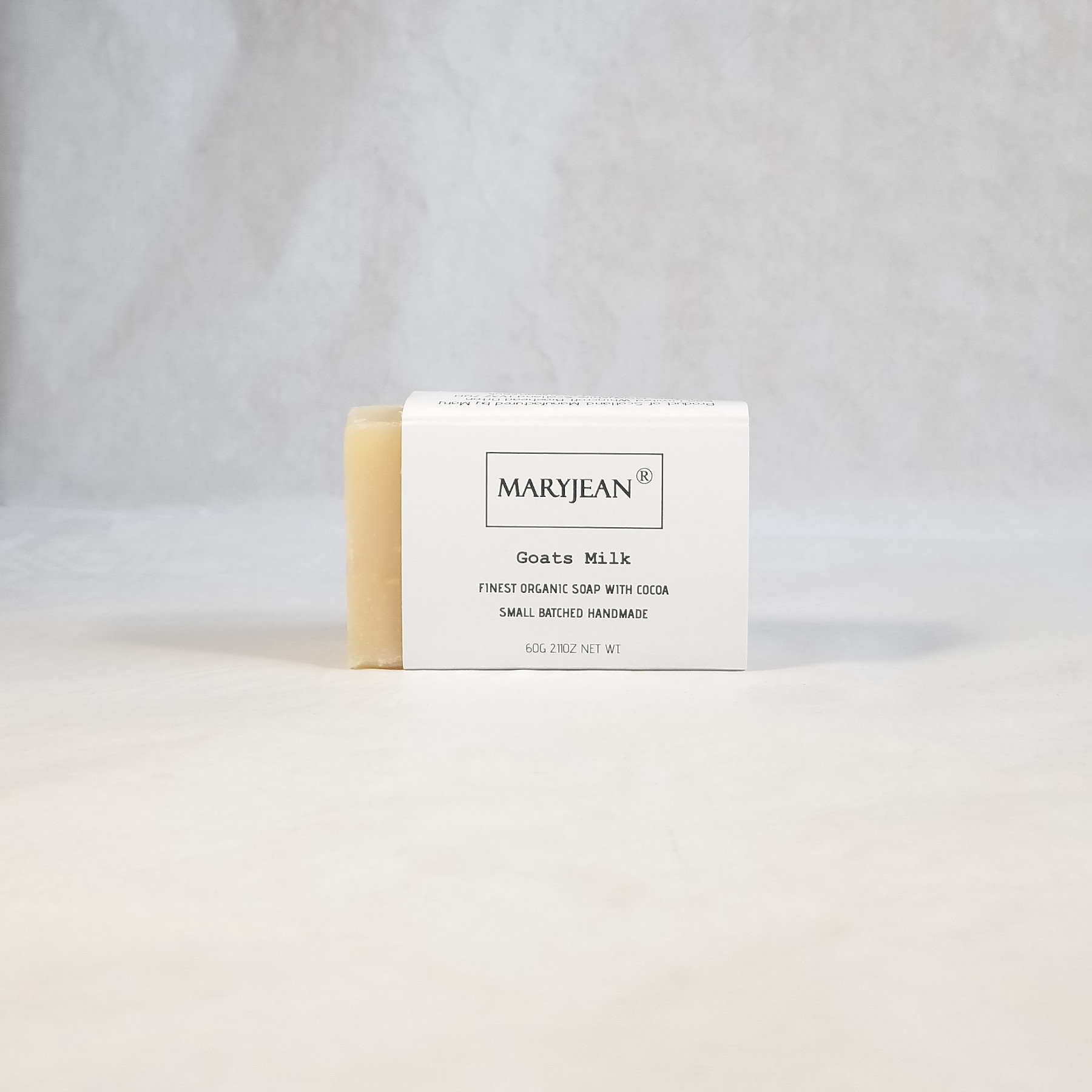 Travel size Organic Scottish Goats Milk Soap Handmade with Cocoa Best solution soap bar for eczema and psoriasis leaving your skin repaired and polished with a glow from goats milk soap