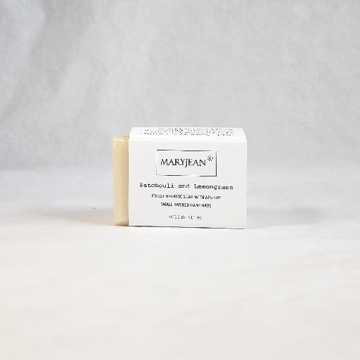 A gentle plant based soap with a refreshing Lemongrass fragrance to reinvigorate the senses after deep cleansing of ground in dirt and grease volcanic pumice makes it easy to wash off Travel Size Organic Scottish Patchouli Lemongrass Exfoliating Hand Scrub Soap Handmade With Apricot 06140431025890098285497270614518