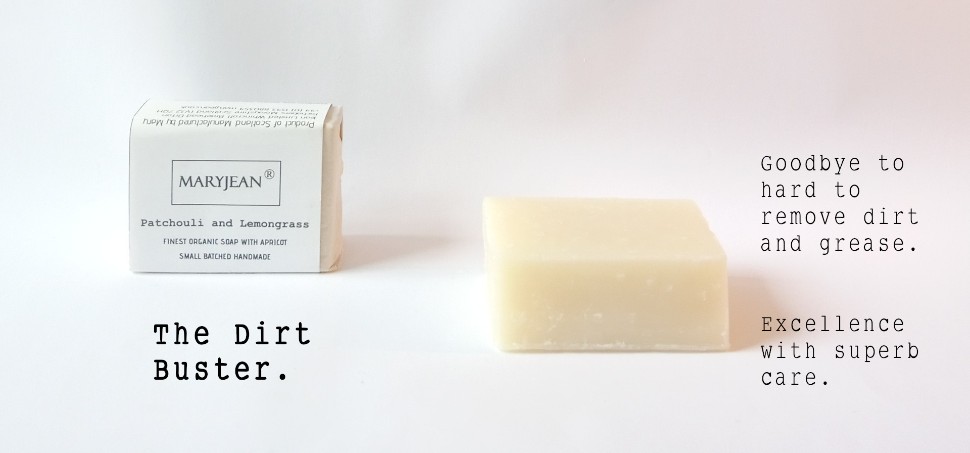 Travel Size Organic Scottish Patchouli Lemongrass Exfoliating Hand Scrub Soap Handmade With Apricot en_GB