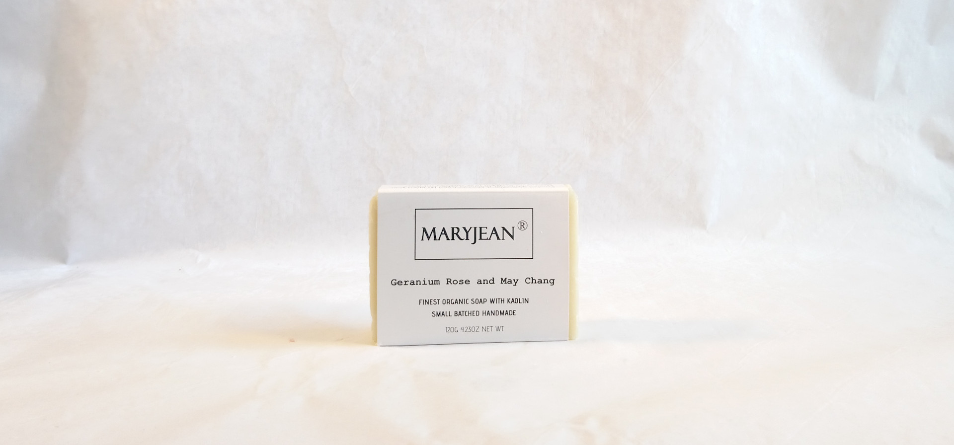 Twin Pack 2 Organic Scottish Geranium May Chang Gentlemen's Plastic And Sulphate Free Shaving Soaps Handmade With Kaolin en_GB