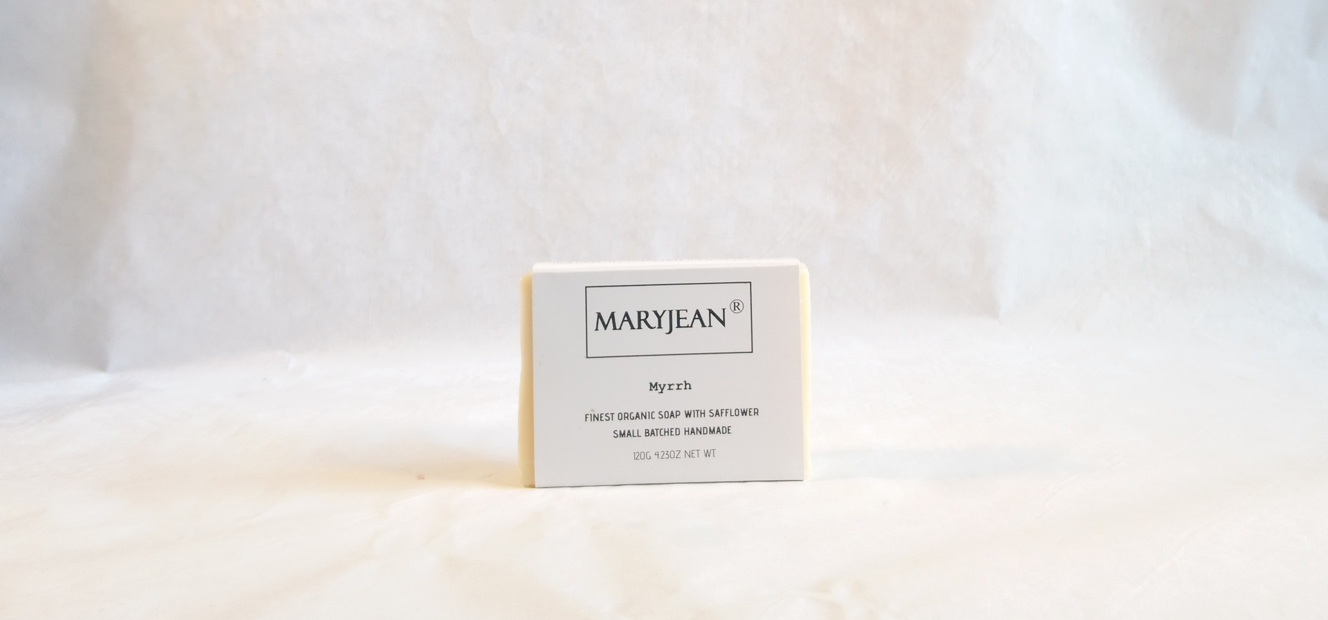 Twin Pack 2 Organic Scottish Myrrh Plastic And Sulphate Free Soaps Handmade With Safflower en_GB
