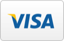 We accept Visa securely